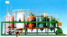 Small scale complete oil refinery set